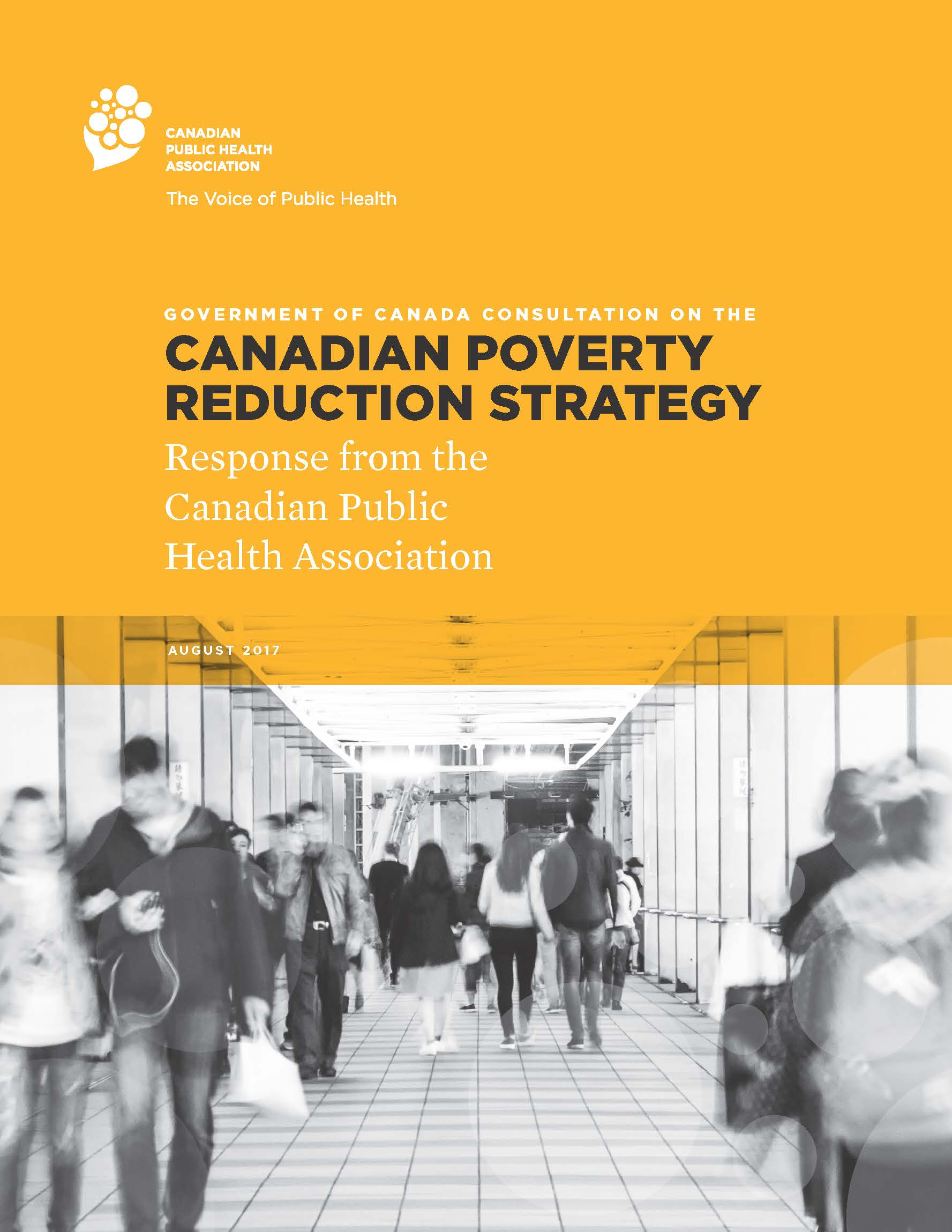 Poverty Reduction Strategy Consultation Response Publication Cover